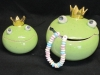 Schmuckdose Froschkönig